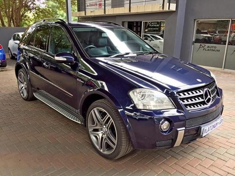used mercedes benz m class ml 63 amg for sale in gauteng id 3133319. Black Bedroom Furniture Sets. Home Design Ideas