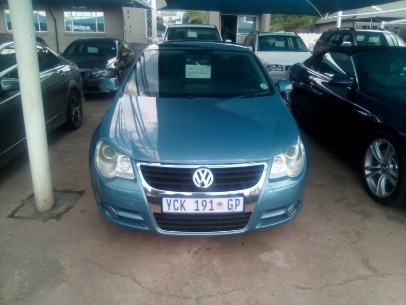 used volkswagen eos fsi sportline dsg for sale in gauteng id 3147027. Black Bedroom Furniture Sets. Home Design Ideas