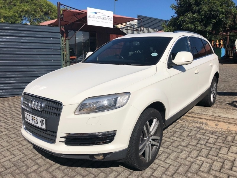 used audi q7 4 2 tdi v8 quattro tip for sale in mpumalanga id 3147601. Black Bedroom Furniture Sets. Home Design Ideas