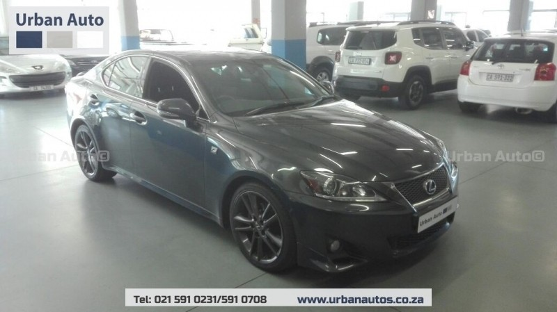 used lexus is 250 f sport for sale in western cape id 3147613. Black Bedroom Furniture Sets. Home Design Ideas