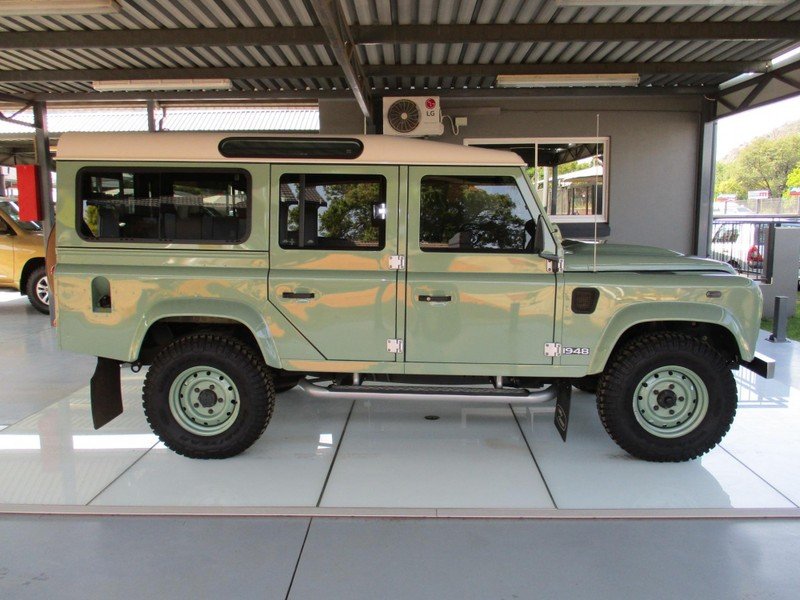 Used Land Rover Defender 110 2 2d S W Heritage For Sale In