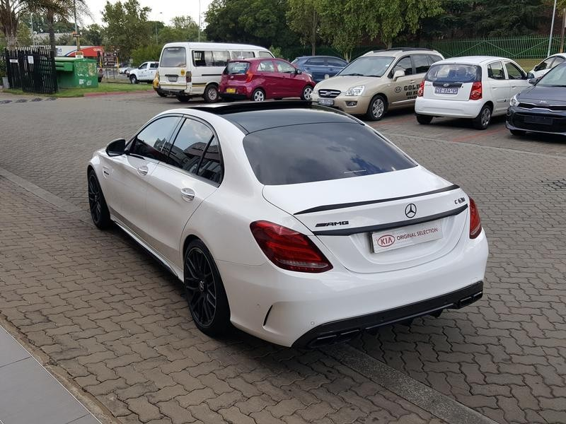 used mercedes benz c class c63 amg s for sale in gauteng id 3151561. Black Bedroom Furniture Sets. Home Design Ideas