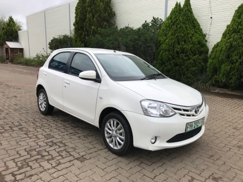 Used Toyota Etios 1 5 Xs 5dr For Sale In Kwazulu Natal