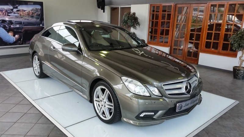 Used Mercedes Benz E Class E350 Coupe Amg Sport Full