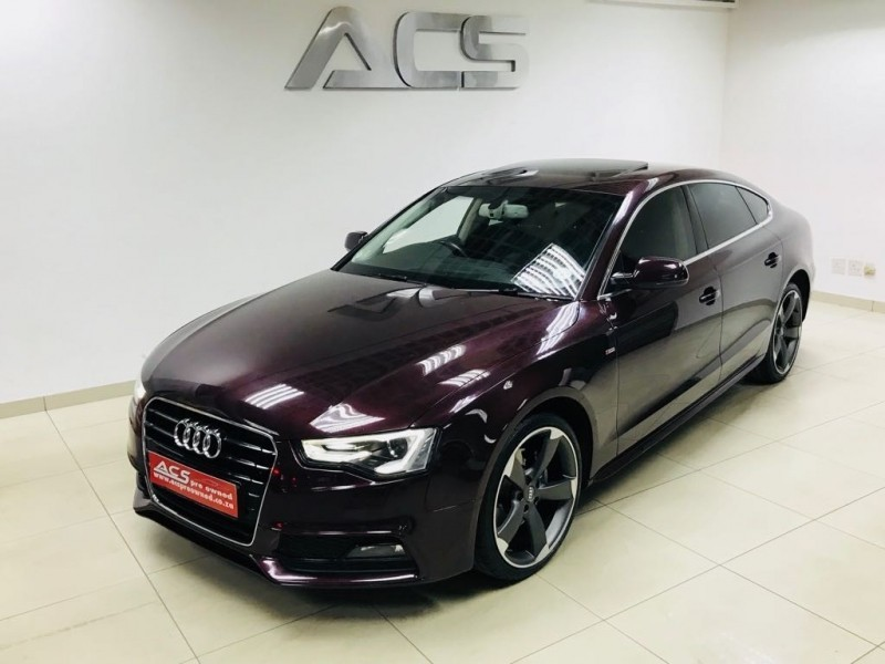 used audi a5 sportback 2 0 tdi s line auto sunroof xenons for sale in gauteng id. Black Bedroom Furniture Sets. Home Design Ideas
