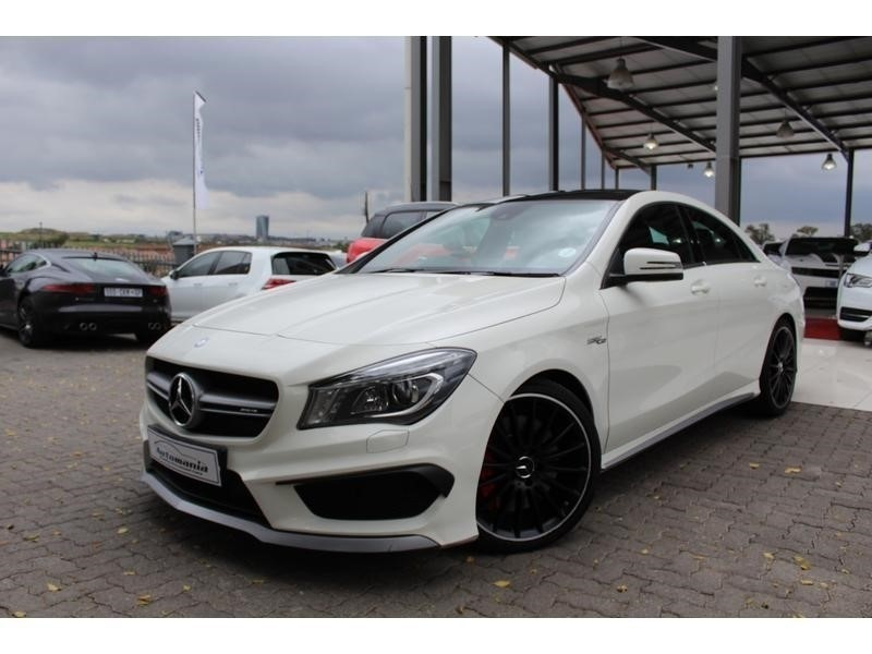 used mercedes benz cla class 2015 mercedes amg cla45 4matic performance pack for sale in gauteng. Black Bedroom Furniture Sets. Home Design Ideas