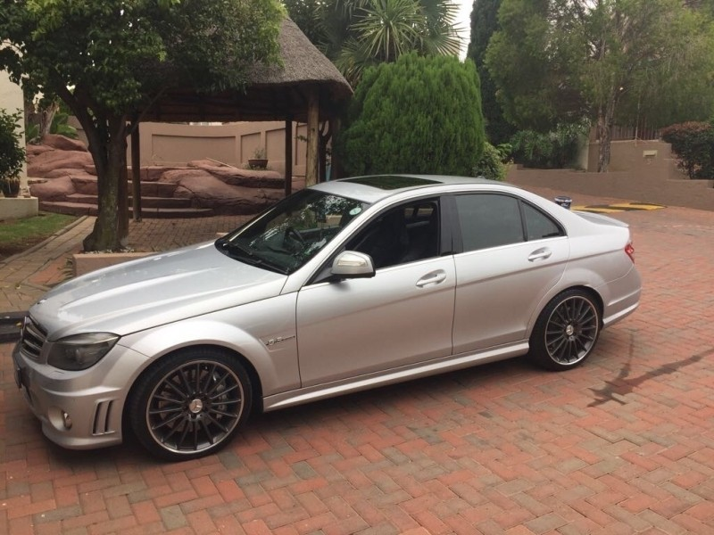 used mercedes benz c class c63 amg for sale in gauteng id 3167219. Black Bedroom Furniture Sets. Home Design Ideas