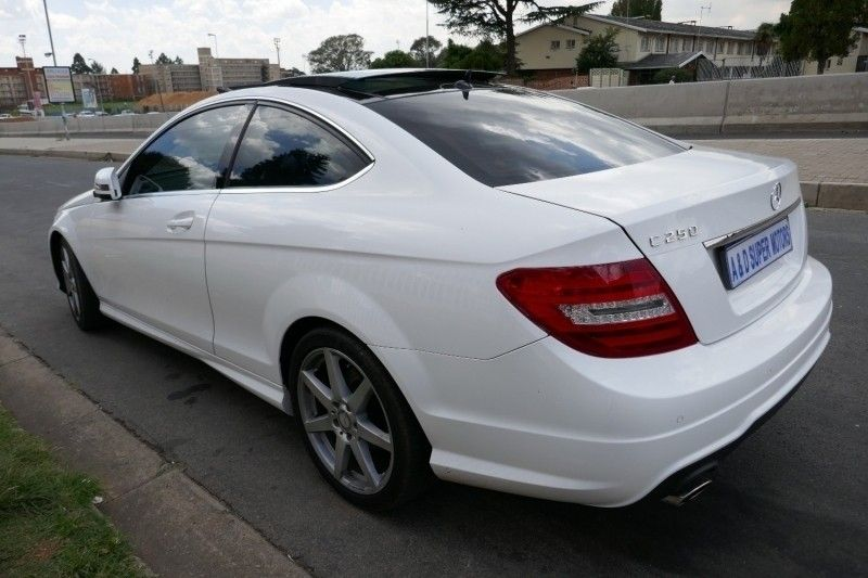 Used mercedes benz c class c250 be coupe a t for sale in for Mercedes benz finance phone number