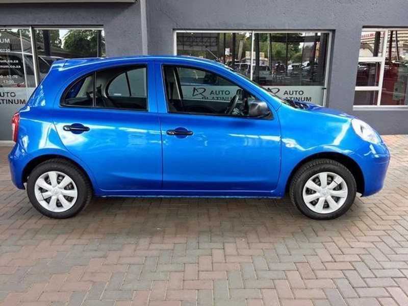 used nissan micra 1 2 visia 5dr d81 for sale in gauteng id 3177271. Black Bedroom Furniture Sets. Home Design Ideas