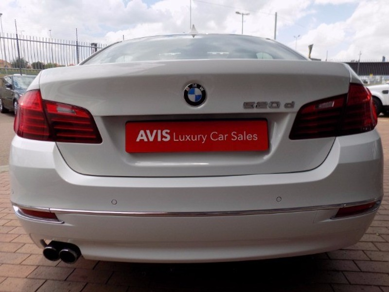 Used Bmw 5 Series 520d Auto Luxury Line For Sale In