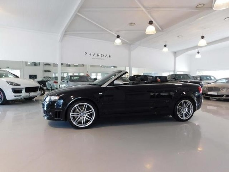 used audi rs4 quattro cabriolet for sale in gauteng id 3181635. Black Bedroom Furniture Sets. Home Design Ideas