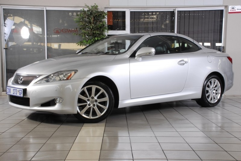 used lexus is 250 convertible a t for sale in gauteng id 3188845. Black Bedroom Furniture Sets. Home Design Ideas