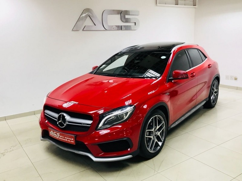 used mercedes benz gla class gla 45 amg 4matic 32000kms pan roof nav for sale in gauteng cars. Black Bedroom Furniture Sets. Home Design Ideas
