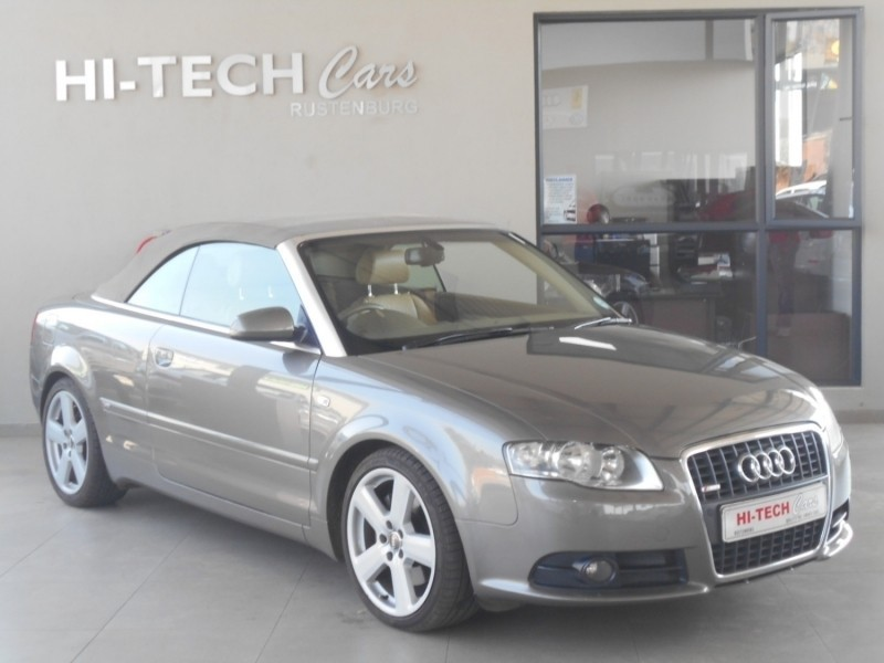 used audi a4 fsi cabriolet multi for sale in north west province id 3192845. Black Bedroom Furniture Sets. Home Design Ideas