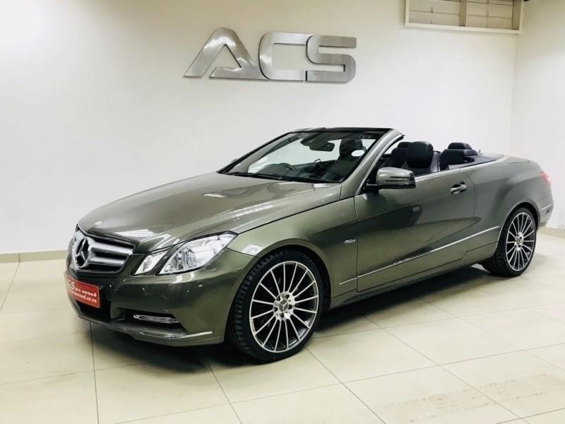 Used mercedes benz e class e250 cabriolet amg 7g tronic for Mercedes benz e class cabriolet for sale