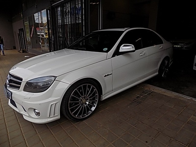 used mercedes benz c class c63 amg for sale in gauteng id 3200333. Black Bedroom Furniture Sets. Home Design Ideas