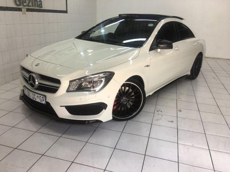 used mercedes benz cla class cla45 amg for sale in gauteng id 3233691. Black Bedroom Furniture Sets. Home Design Ideas