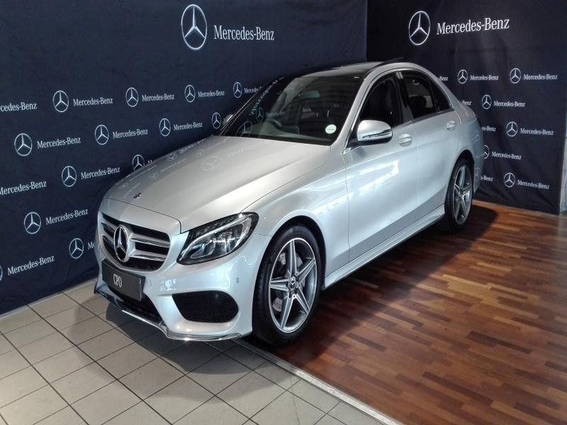 Used mercedes benz c class c180 amg line auto for sale in for Mercedes benz c class for sale used
