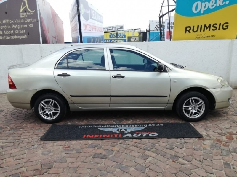 used toyota corolla 140i for sale in gauteng id 3244343. Black Bedroom Furniture Sets. Home Design Ideas