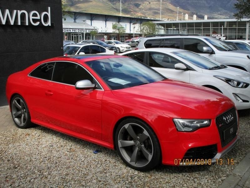 used audi rs5 coupe quattro stronic for sale in western cape id 3244971. Black Bedroom Furniture Sets. Home Design Ideas