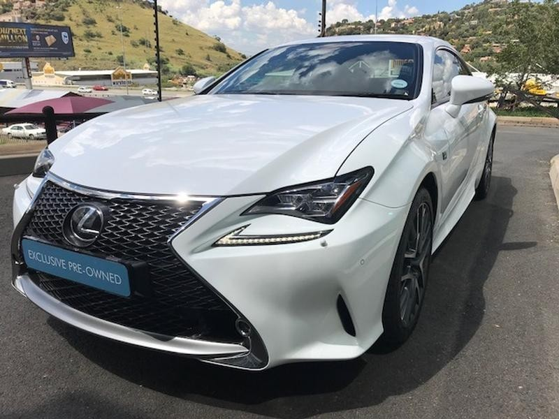 used lexus rc 350 f sport v6 for sale in gauteng id 3249961. Black Bedroom Furniture Sets. Home Design Ideas