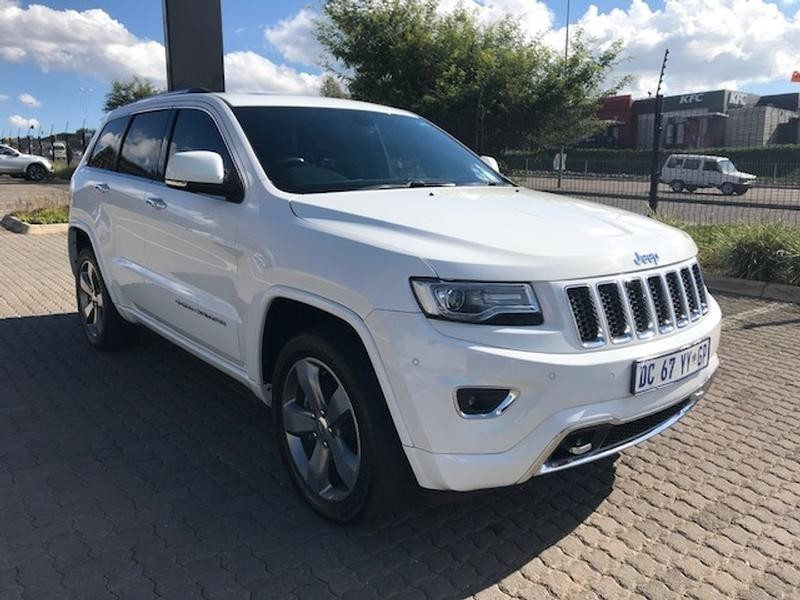 used jeep grand cherokee 3 6 overland for sale in gauteng id 3266465. Black Bedroom Furniture Sets. Home Design Ideas