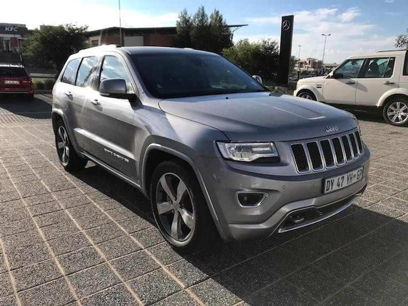 used jeep grand cherokee 3 6 overland for sale in gauteng id 3268447. Black Bedroom Furniture Sets. Home Design Ideas