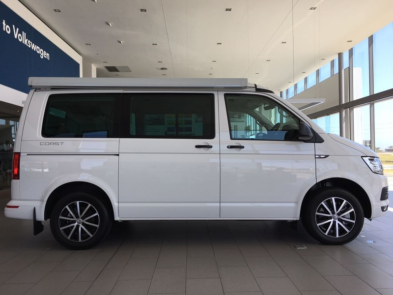 used volkswagen transporter t6 california coast 2 0 bitdi. Black Bedroom Furniture Sets. Home Design Ideas