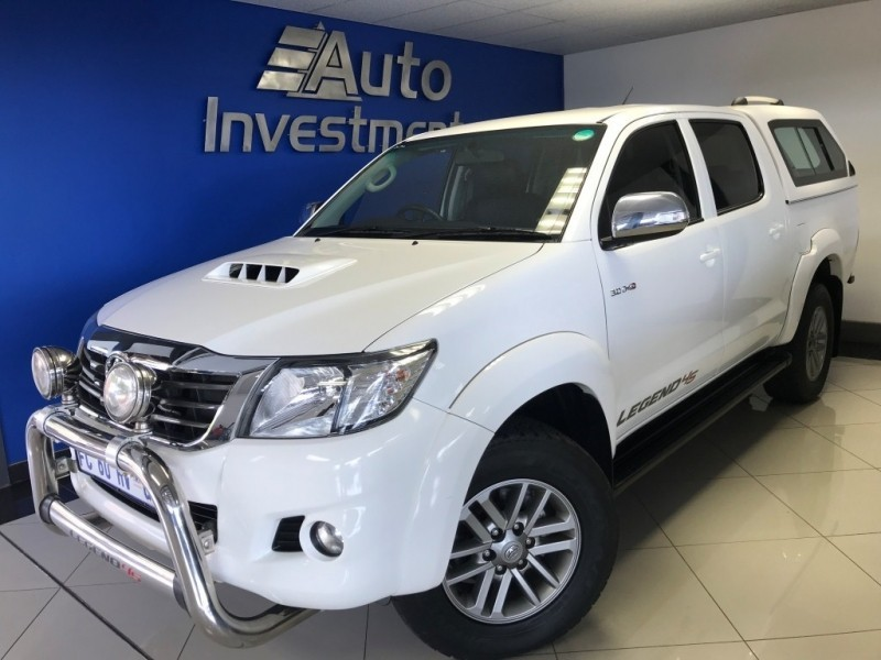 used toyota hilux 1 owner 3 0d4d a t 4x4 legend45 for sale in gauteng id. Black Bedroom Furniture Sets. Home Design Ideas