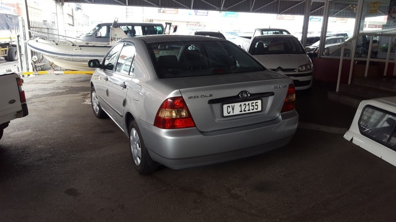 Used Toyota Corolla 1 6 Gle For Sale In Western Cape Cars Co Za Id 3317528
