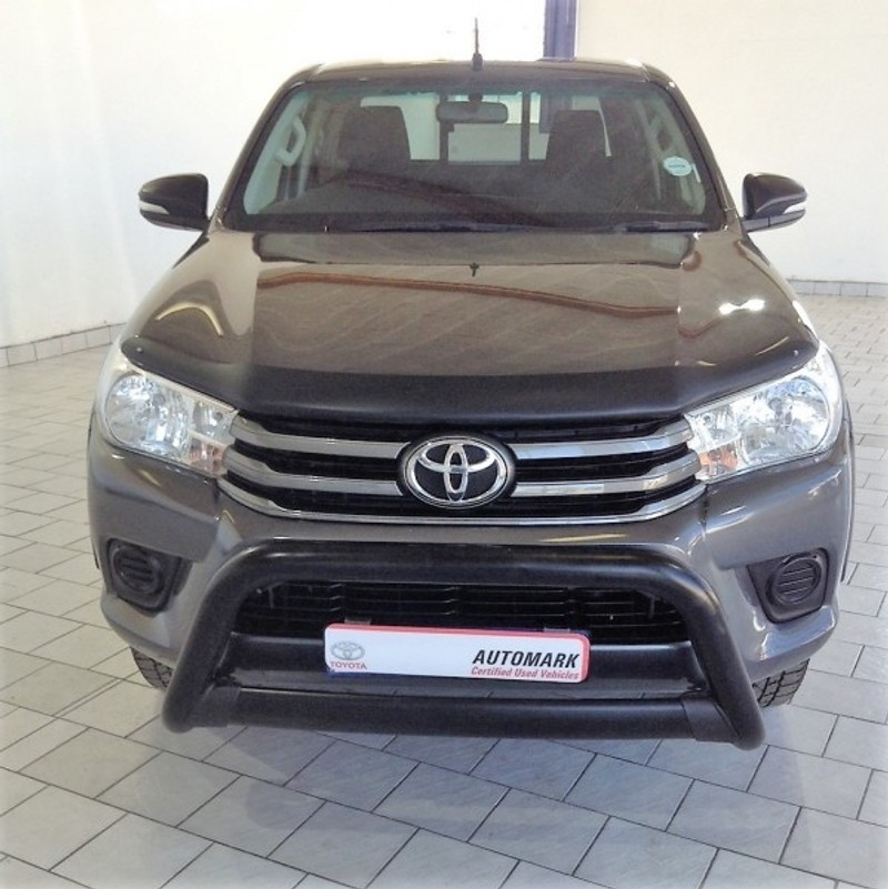 Toyota Care Extended Warranty: Used Toyota Hilux 2.4 GD-6 RB SRX Extended Cab Bakkie For