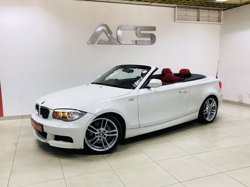 Used Bmw 1 Series 135i Convertible M Dct M Sport Red