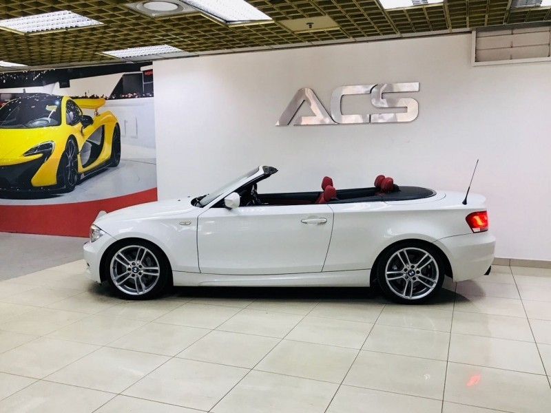 used bmw 1 series 135i convertible m dct m sport red leather for sale in gauteng. Black Bedroom Furniture Sets. Home Design Ideas