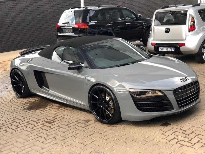 used audi r8 5 2 fsi gt quattro spyder rtronic for sale in. Black Bedroom Furniture Sets. Home Design Ideas