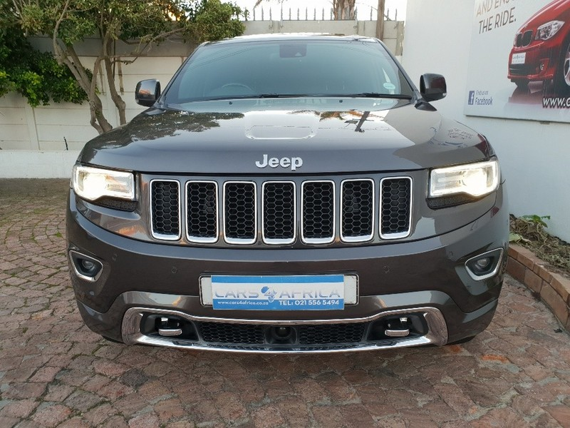 used jeep grand cherokee 3 6 overland for sale in western cape id 3410976. Black Bedroom Furniture Sets. Home Design Ideas
