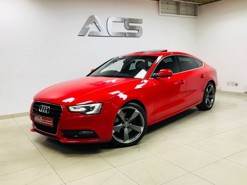 used audi a5 sportback 2 0t tfsi quattro s tronic s line for sale in gauteng id. Black Bedroom Furniture Sets. Home Design Ideas