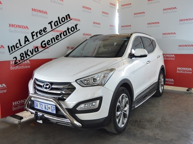Used Hyundai Santa Fe R2 2 Awd Elite 7s A T For Sale In