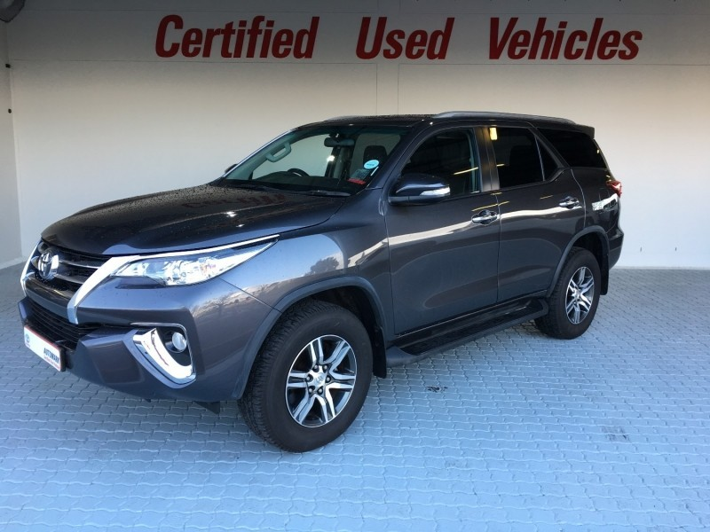 Used Toyota Fortuner 2017 Toyota Fortuner 2 4 Gd 6 Auto