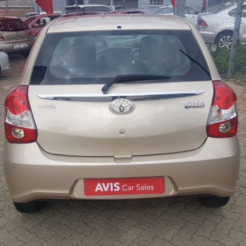 Used Toyota Etios 1 5 Xs 5dr For Sale In Gauteng Cars Co
