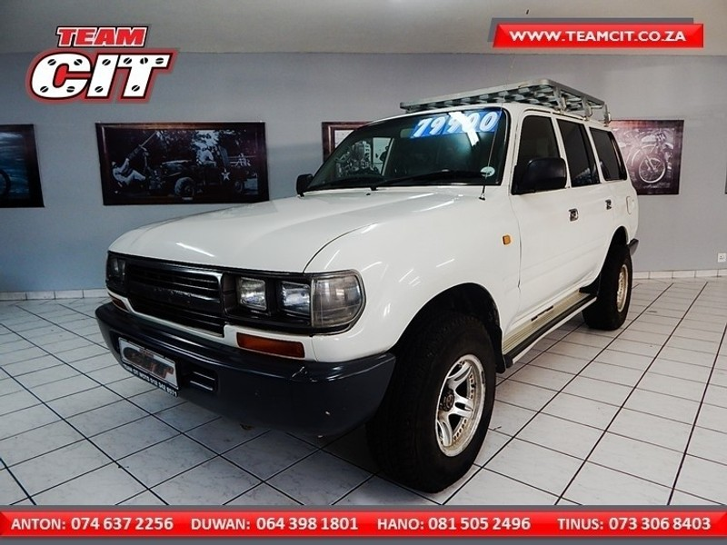 Used Toyota Land Cruiser 4 0 Straight 6 Petrol For Sale In Gauteng Cars Co Za Id 3537174