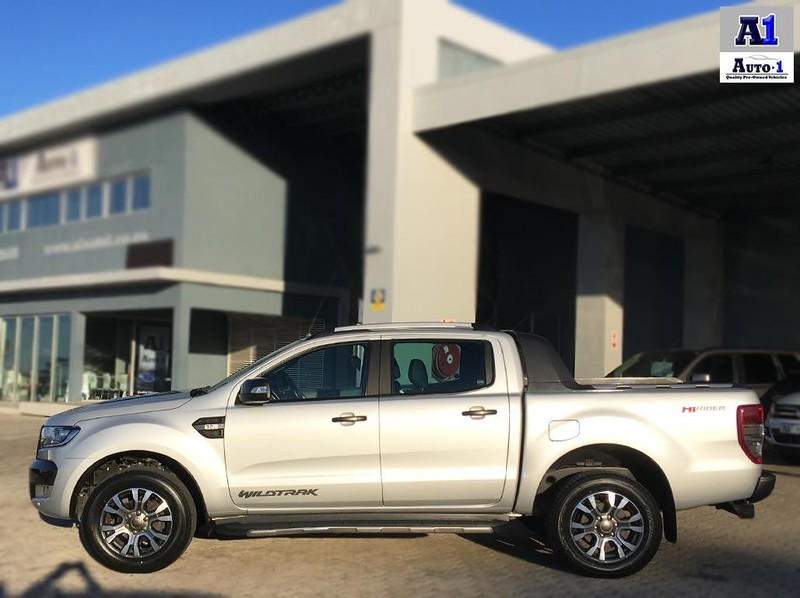 Used Ford Ranger 3 2tdci Wildtrak Auto Double Cab Bakkie