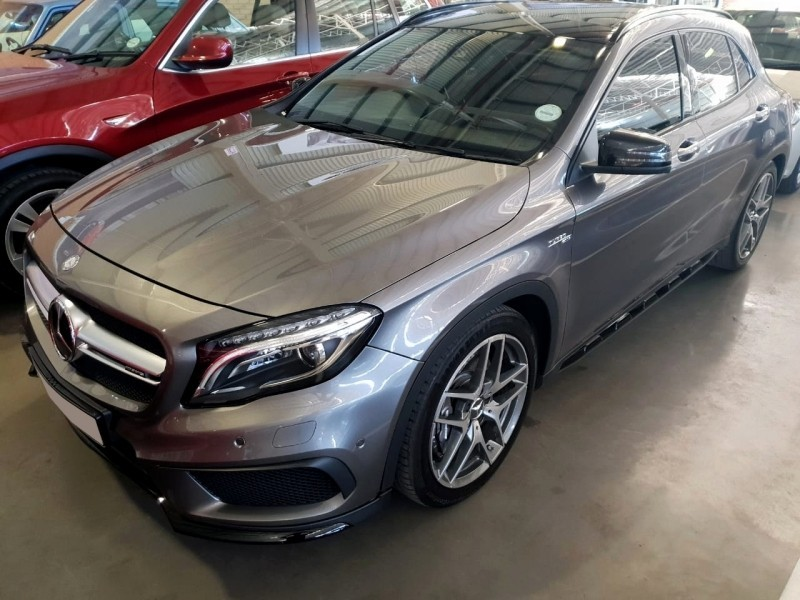 used mercedes benz cla class 45 amg for sale in gauteng id 3613396. Black Bedroom Furniture Sets. Home Design Ideas