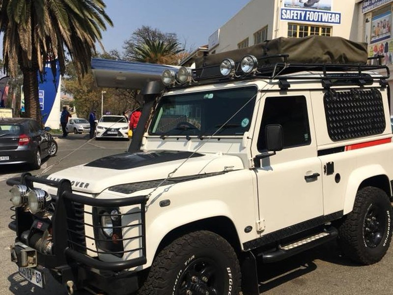 Used Land Rover Defender Puma 90 Sw For Sale In Gauteng