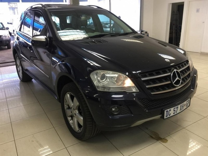 Used mercedes benz m class ml 500 a t for sale in gauteng for 2009 mercedes benz ml350 for sale