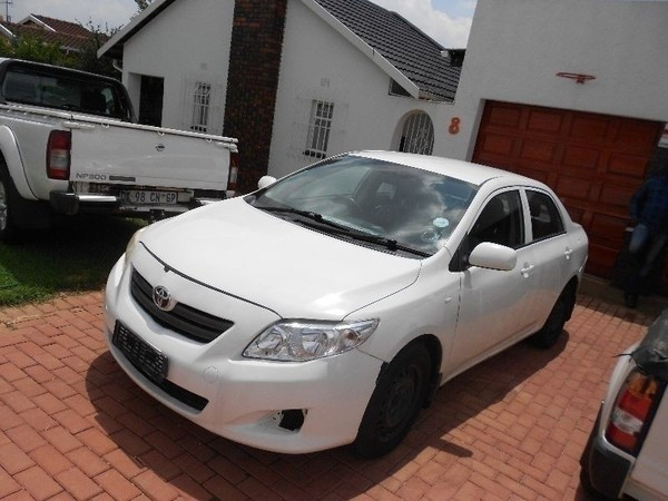 used toyota corolla 1 6 professional for sale in gauteng id 1872034. Black Bedroom Furniture Sets. Home Design Ideas