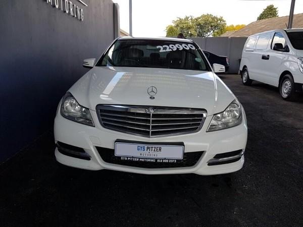 2013 Mercedes-Benz C-Class C200 Be Classic At  Gauteng Pretoria_0