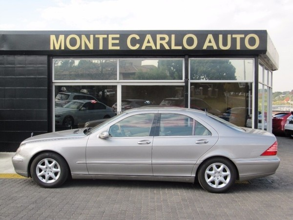 Used mercedes benz s class s 500 a t for sale in gauteng for Mercedes benz s 500 for sale used