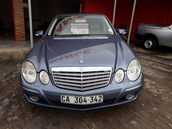 used mercedes benz e class e 500 for sale in western cape id 2351078. Black Bedroom Furniture Sets. Home Design Ideas