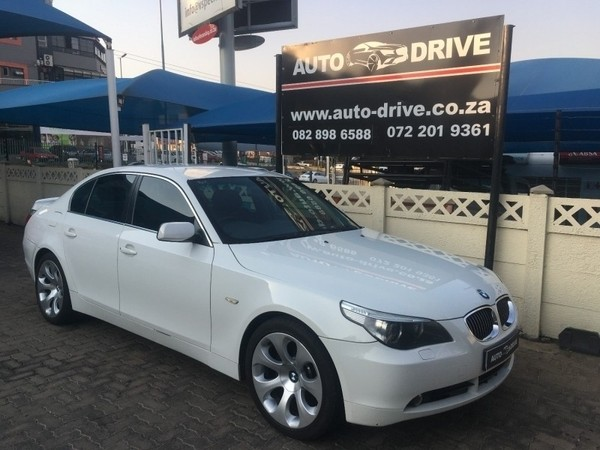 used bmw 5 series 550i a t e60 for sale in gauteng id 2546872. Black Bedroom Furniture Sets. Home Design Ideas
