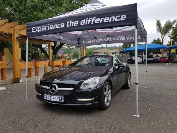 2013 Mercedes-Benz SLK-Class Slk 200 At  Gauteng Four Ways_0
